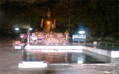 Buddha cave was Hospital 4 POWs