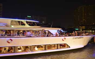 Bangkok Dinner Cruise after tour