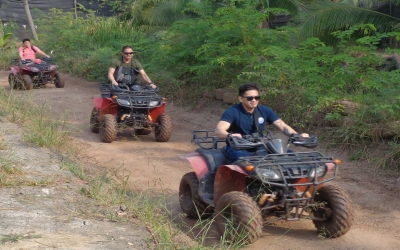 Floating Market Quad bikes