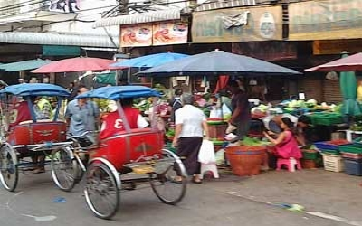 Road-side-markets-in-thailand