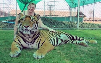 Photo with Big Tiger