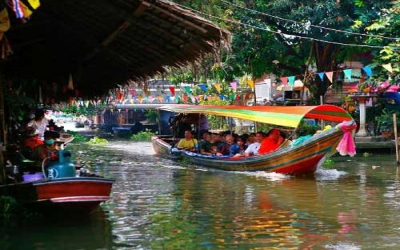 Long Tail boat canal Tours