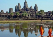 Angkor Wat & Monks