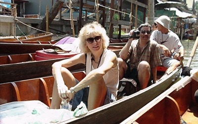 Boat Rides at the Floating Market